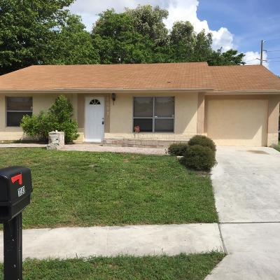 Boynton Beach Single Family Home For Sale: 7093 Glenwood Drive