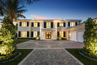 Boca Raton Single Family Home For Sale: 133 W Coconut Palm Road