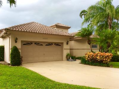 Lake Worth Single Family Home For Sale: 6444 Crooked Stick Court