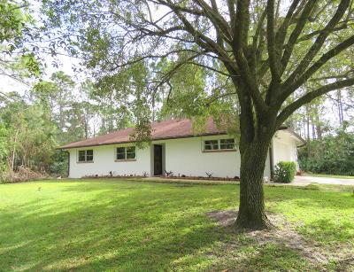 Loxahatchee Single Family Home For Sale: 15658 82nd Lane