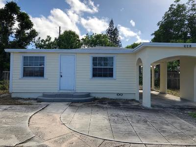 West Palm Beach Single Family Home For Sale: 628 41st Street