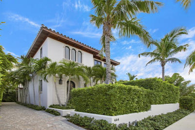 Palm Beach Single Family Home For Sale: 444 Chilean Avenue