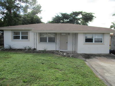 Delray Beach Single Family Home For Sale: 5160 Garfield Road