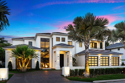 Boca Raton Single Family Home Sold: 271 W Coconut Palm Road