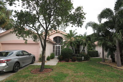 Boynton Beach Single Family Home For Sale: 11160 Kaui Court