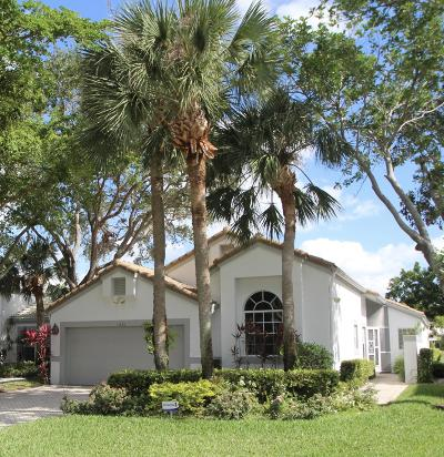 Boynton Beach Single Family Home For Sale: 11825 Fountainside Circle
