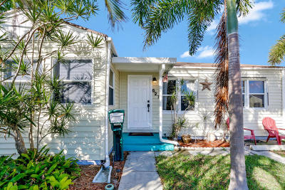 Lake Worth Single Family Home For Sale: 627 J Street