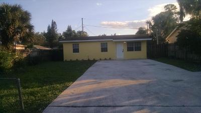 West Palm Beach Single Family Home For Sale: 5566 Mango Road