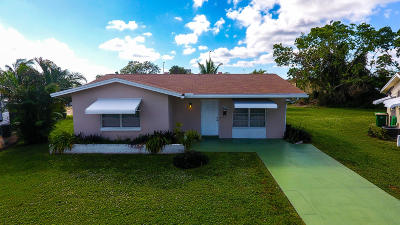 Tamarac Single Family Home For Sale: 4814 NW 49th Court