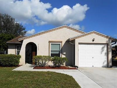 Boynton Beach FL Single Family Home For Sale: $260,000