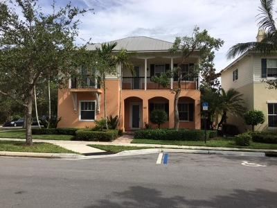 Jupiter Single Family Home For Sale: 103 Leather Leaf Drive