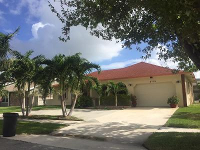 West Palm Beach Single Family Home For Sale: 2718 Starwood Court