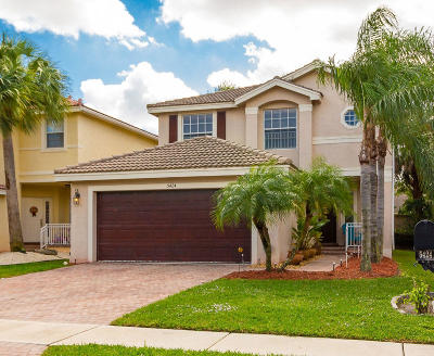 Lake Worth Single Family Home For Sale: 5424 Wellcraft Drive