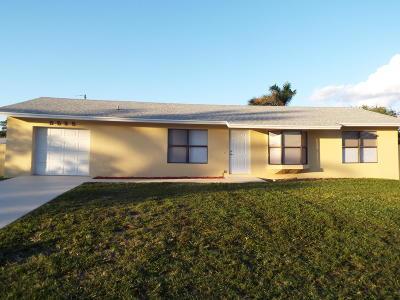 Boynton Beach Single Family Home For Sale: 3525 Ruskin Avenue