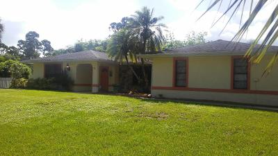 Jensen Beach Single Family Home For Sale: 437 NE Bayberry Lane