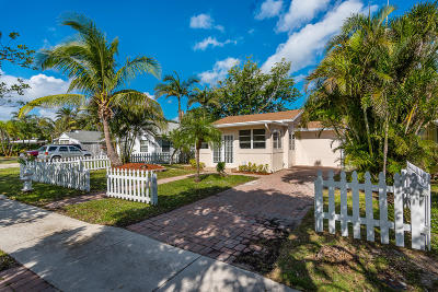 Delray Beach Single Family Home For Sale: 715 S Lake Avenue