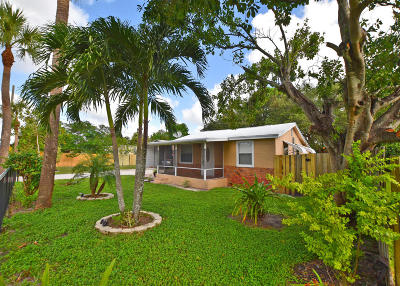 West Palm Beach Single Family Home For Sale: 128 Sunbeam Avenue