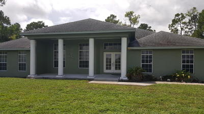 Loxahatchee Single Family Home For Sale: 9470 190th Street