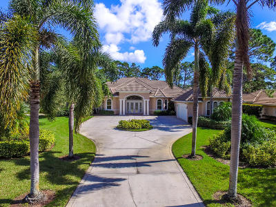 Port Saint Lucie Single Family Home For Sale: 7290 Reserve Creek Drive
