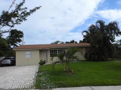 Deerfield Beach Single Family Home Contingent: 4310 NE 8th Avenue