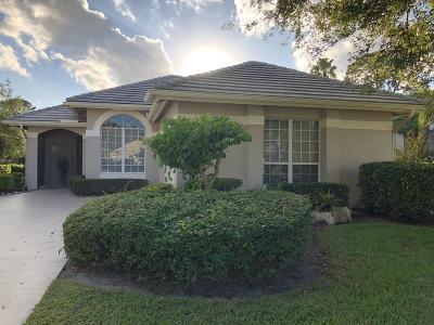 Port Saint Lucie, Saint Lucie West Single Family Home For Sale: 7347 Marsh Terrace