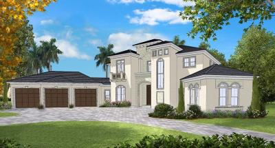 Palm Beach Gardens FL Single Family Home For Sale: $2,495,000