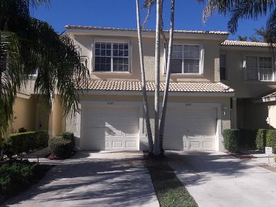 Boynton Beach Single Family Home Contingent: 8075 Bellagio Lane