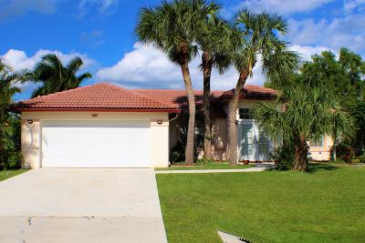 Port Saint Lucie, Saint Lucie West Single Family Home For Sale: 2432 SE University Terrace
