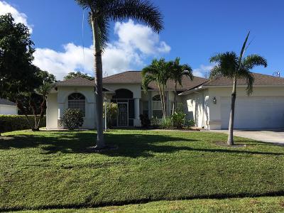 Port Saint Lucie, Saint Lucie West Single Family Home For Sale: 2262 SE Gaslight Street