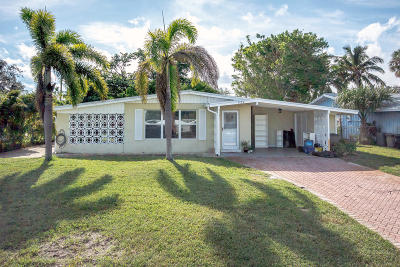 Palm Beach Gardens Single Family Home For Sale: 539 Iris Avenue