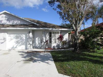 Boynton Beach Single Family Home For Sale: 10359 Boynton Place Circle