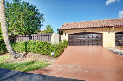 Boca Raton Single Family Home For Sale: 21710 San Simeon Circle