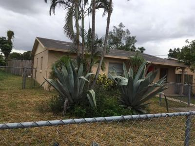 West Palm Beach Single Family Home For Sale: 113 Dorothy Drive