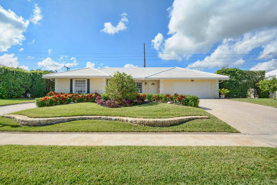 Boca Raton Single Family Home For Sale: 1023 Walnut Terrace