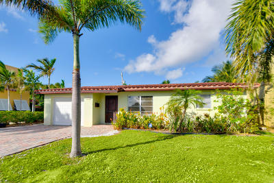 west palm Single Family Home For Sale: 253 Rutland Boulevard