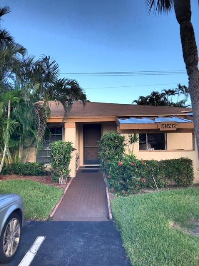 Delray Beach Single Family Home For Sale: 13632 Coconut Palm Court #A