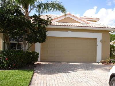 Boynton Beach Single Family Home For Sale: 8149 Brindisi Lane