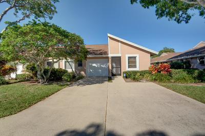 Boca Raton Single Family Home For Sale: 8077 Sweetbriar Way