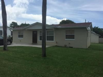 West Palm Beach Single Family Home For Sale: 1248 W 31st