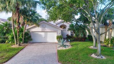 Boynton Beach Single Family Home For Sale: 7837 Stanza Street