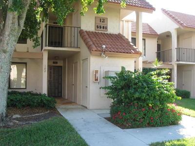 Boynton Beach Rental For Rent: 5561 NW Fairway Park Drive #202