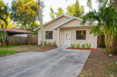 Delray Beach Single Family Home For Sale: 4892 Lincoln Road
