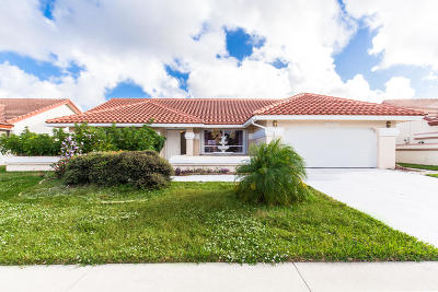 Boynton Beach FL Single Family Home For Sale: $399,000