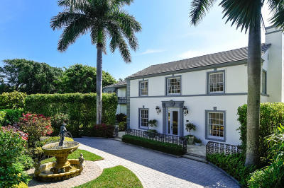 Palm Beach Single Family Home For Sale: 361 Crescent Drive
