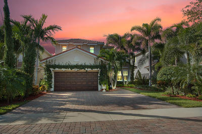 Palm Beach Gardens Single Family Home For Sale: 12431 Aviles Circle