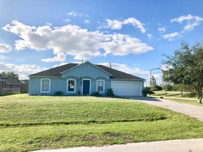 Port Saint Lucie, Saint Lucie West Single Family Home For Sale: 4610 SW Eagle Street