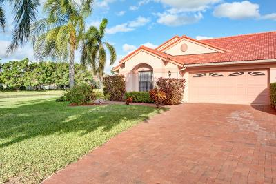 Delray Beach Single Family Home For Sale: 7617 Lexington Club Boulevard #B