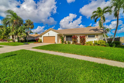 Boca Raton Single Family Home For Sale: 6197 Woodbury Road