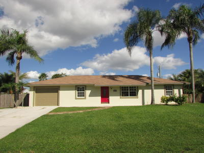 Lake Worth Single Family Home For Sale: 9033 Fashion Place