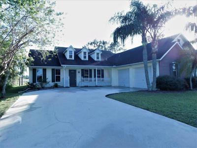 Port Saint Lucie, Saint Lucie West Single Family Home For Sale: 4575 NW Gimlet Avenue